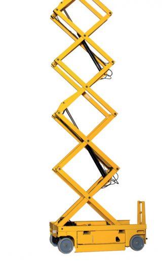 Inchiriere nacela electrica Haulotte Compact 14 tip foarfeca 14m