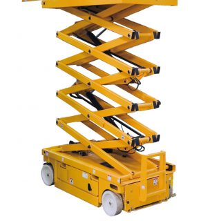 Inchiriere nacela electrica Haulotte Compact 12 tip foarfeca, 12 metri
